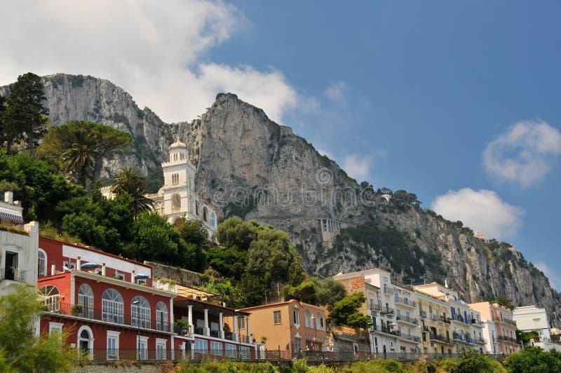 Download Italië, eiland Capri stock afbeelding. Afbeelding bestaande uit horizontaal - 10777329