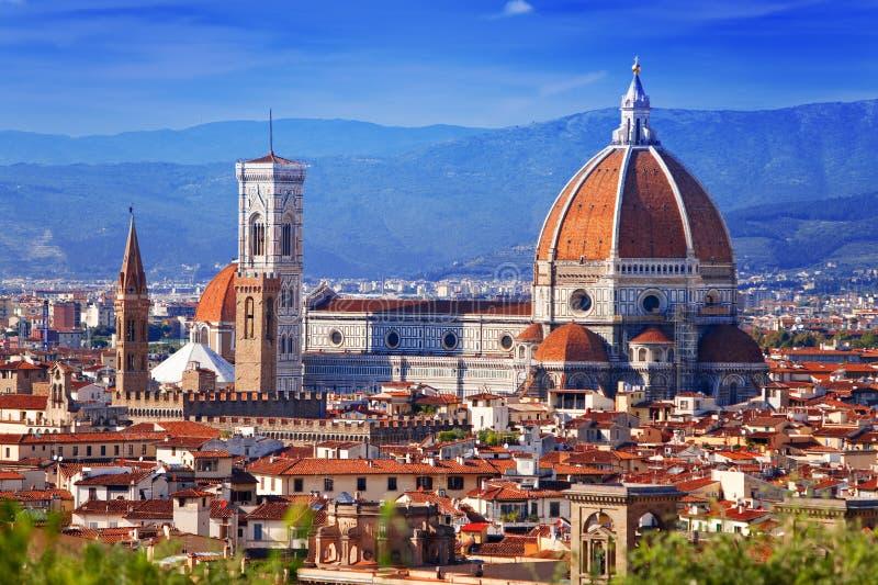 Italië. Florence. Kathedraal Santa Maria del Fiore stock afbeelding