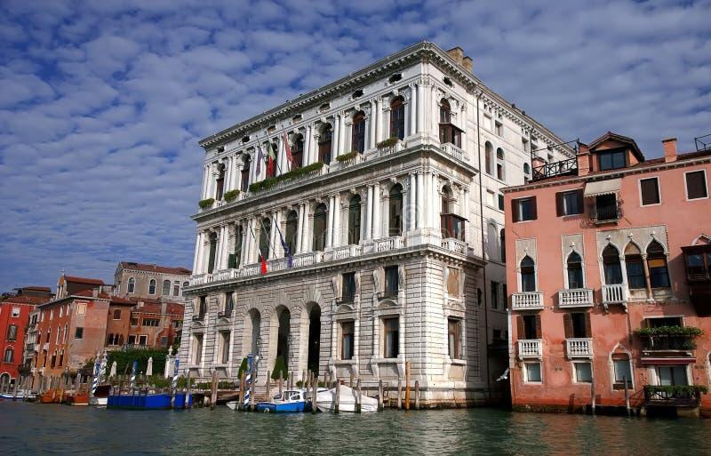 Italië Gang door de straten en de kanalen van Venetië royalty-vrije stock foto's