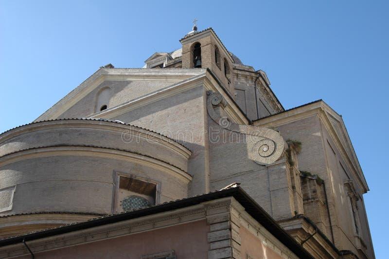 In Italië, het huis van de goden, een mooie kerk royalty-vrije stock foto's