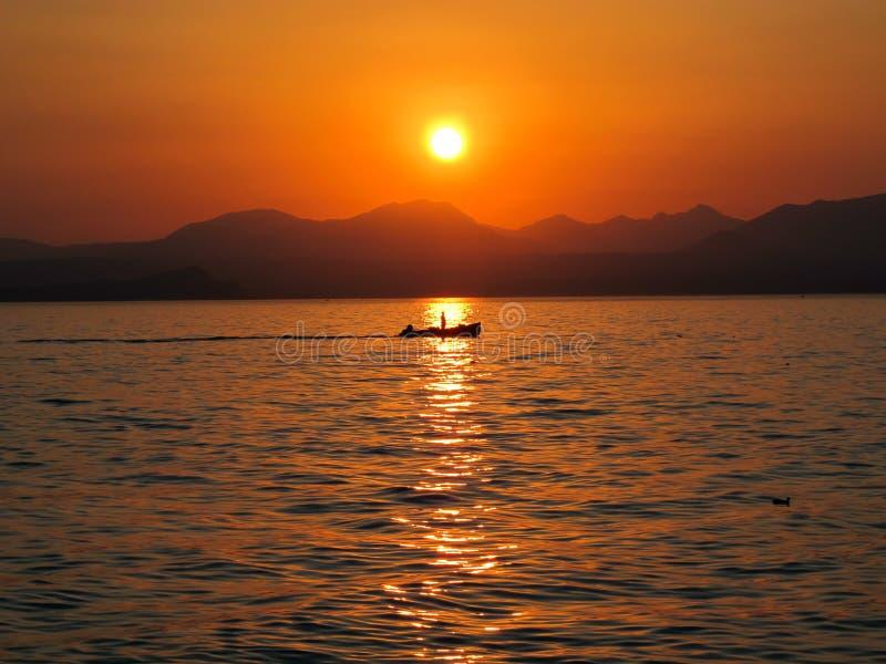 Italië, Lago Di Garda Stock Fotografie