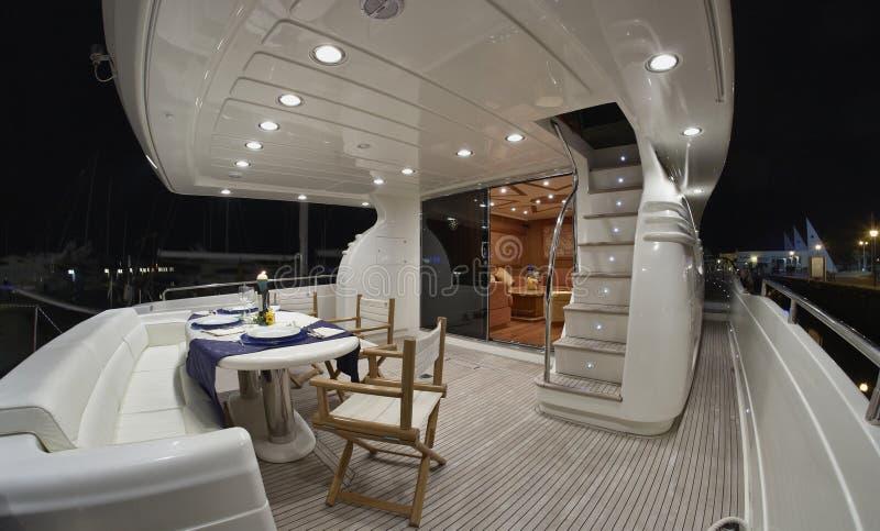 Italië, luxejacht Rizzardi Technema 65 ' royalty-vrije stock foto