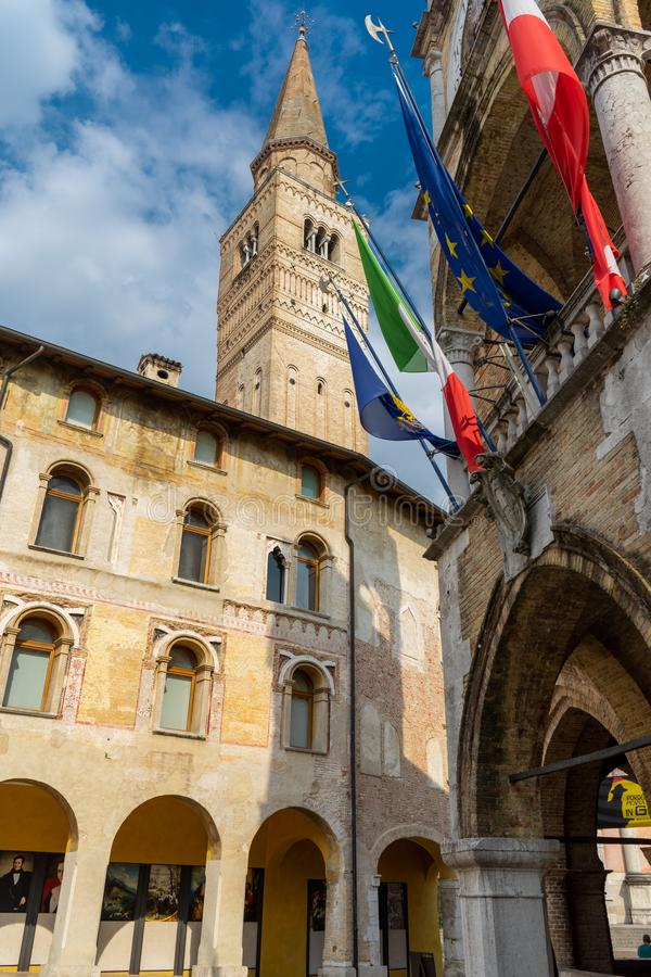 Italië, Pordenone, Friuli Venezia Giulia royalty-vrije stock foto