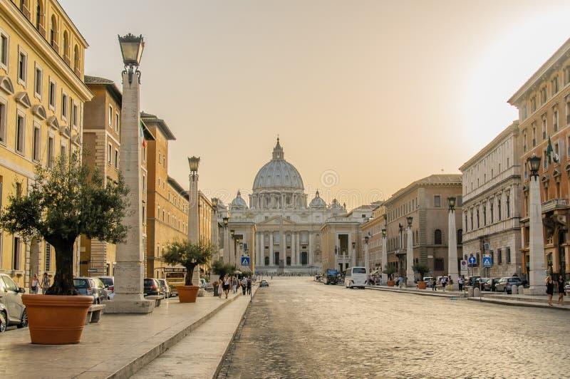Italië - Rome - Stadscentrum royalty-vrije stock foto