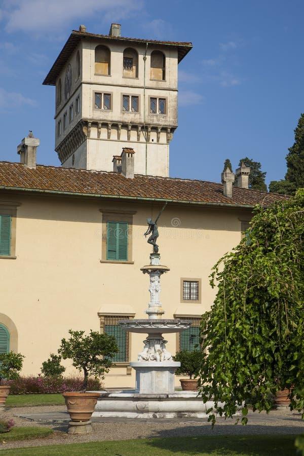 Italië, Toscanië, Florence, Petraia-villa royalty-vrije stock fotografie