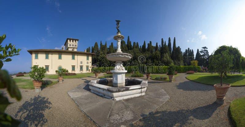 Italië, Toscanië, Florence, Petraia-villa royalty-vrije stock afbeeldingen