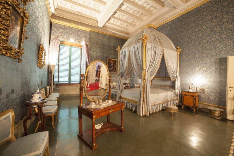 Italië, Toscanië, Florence, Petraia-villa royalty-vrije stock foto