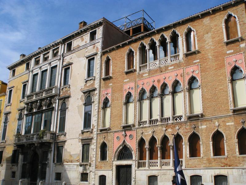 Italië Venetië Prachtige oude architectuur royalty-vrije stock afbeelding