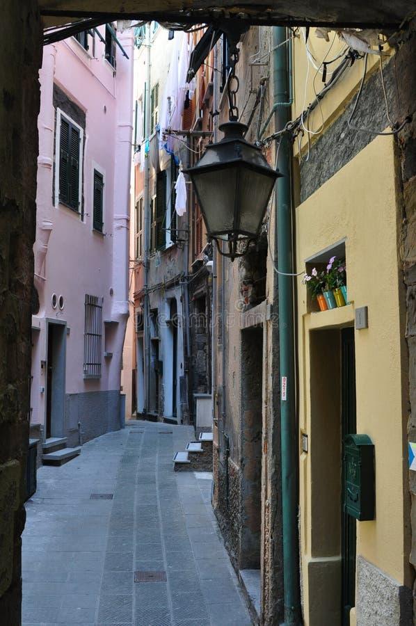 Italië, Vernazza royalty-vrije stock foto's