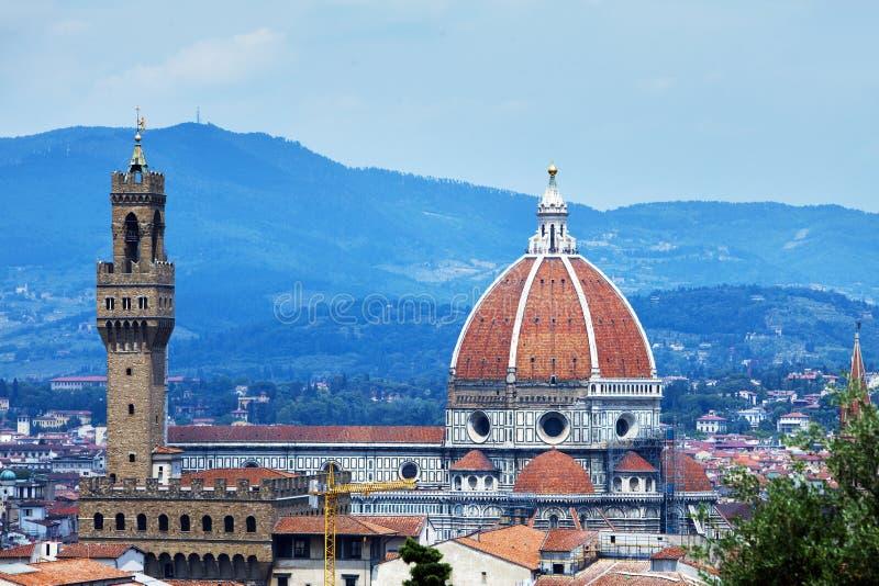 Itali? Florence Kathedraal Santa Maria del Fiore stock foto's