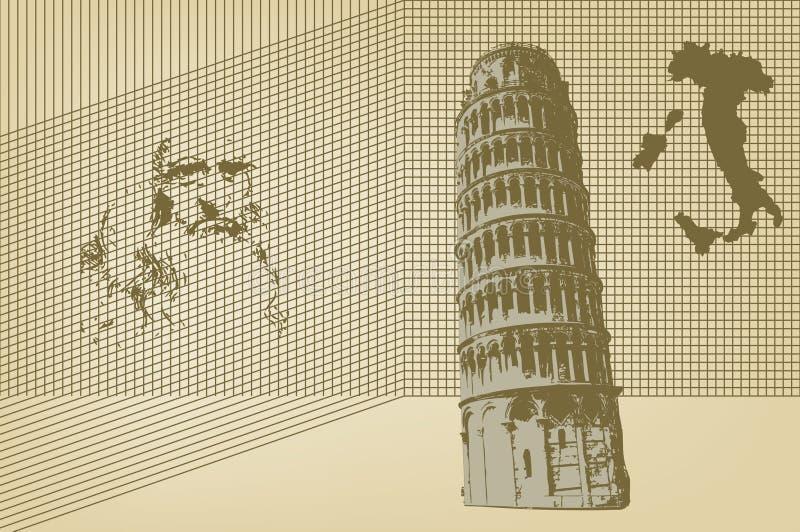Italia ilustração stock