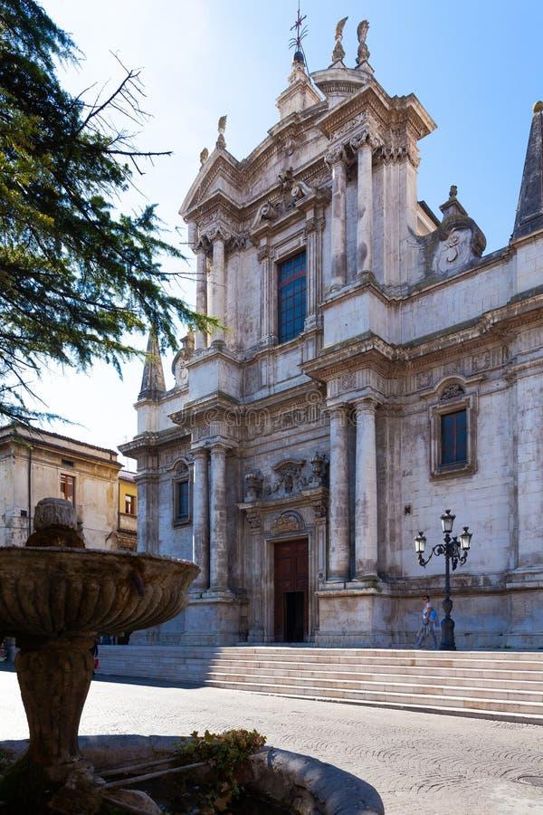 Italia, Abruzos, Sulmona foto de archivo
