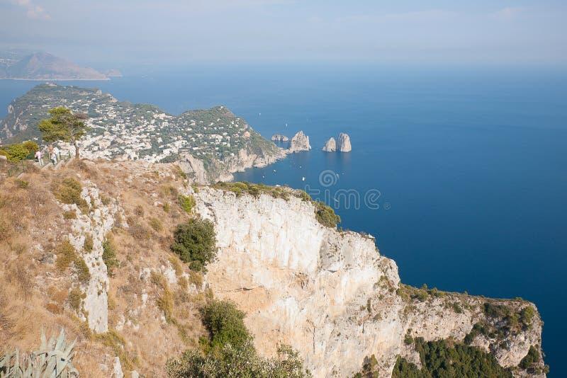 Italia Capri imagen de archivo libre de regalías