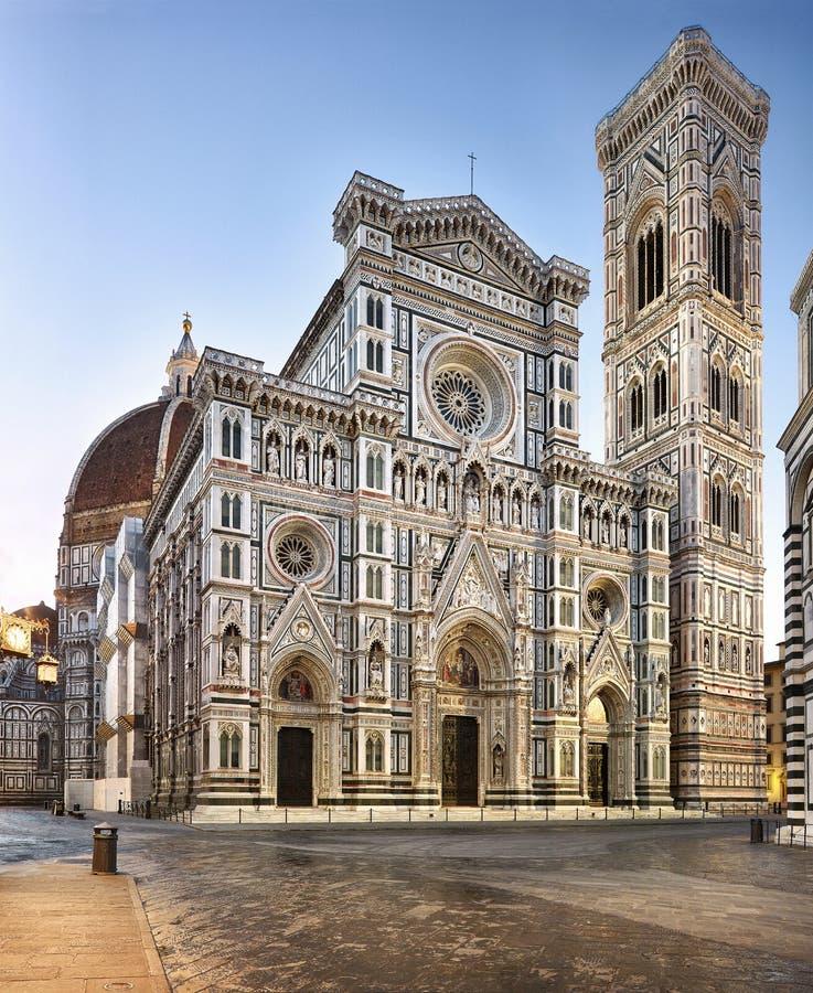 Italia Catedral -1a de Florencia imagenes de archivo