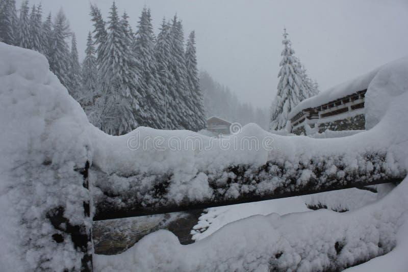 Italia Estación del invierno fotografía de archivo libre de regalías