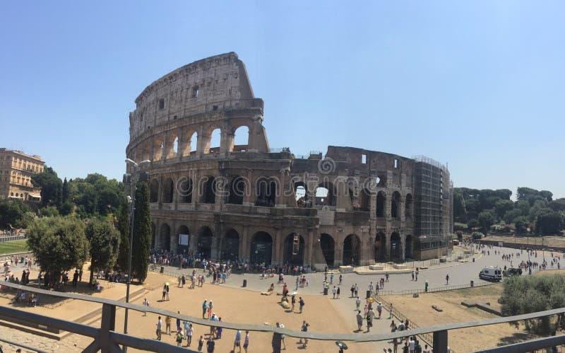 Italia, Roma, Colloseum fotografía de archivo libre de regalías