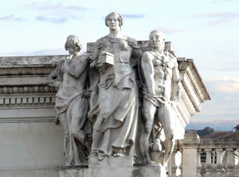 Italia-Roma - terreni comunali creativi da gnuckx immagine stock