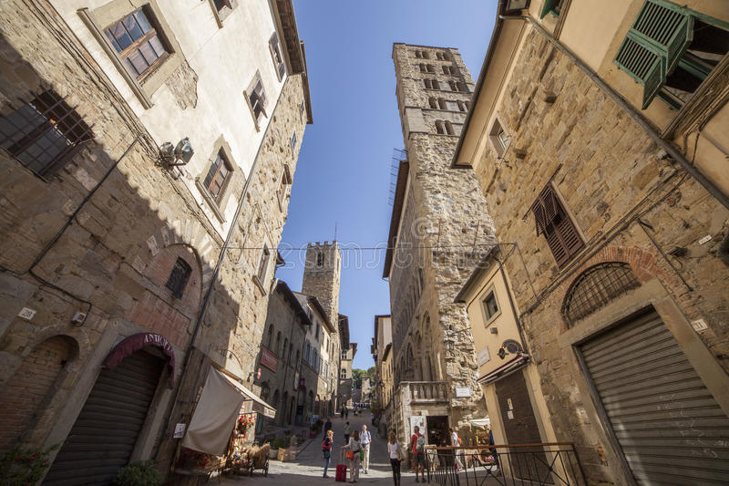 Italia, Toscana, Arezzo fotografía de archivo