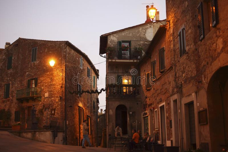 Italia, Toscana, Campagnatico fotografía de archivo libre de regalías