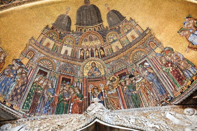 Italia, Venecia, cuadrado de la marca del St. imágenes de archivo libres de regalías
