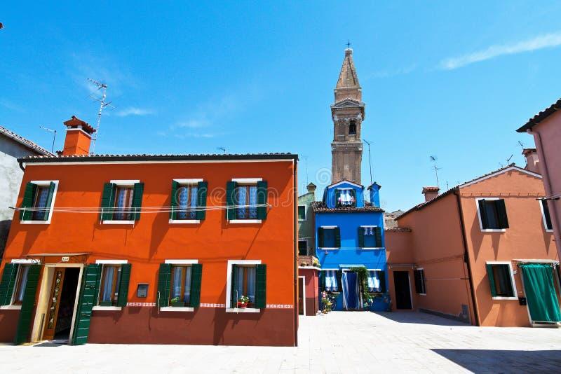 Italia, Venecia. Isla de Burano imagen de archivo libre de regalías