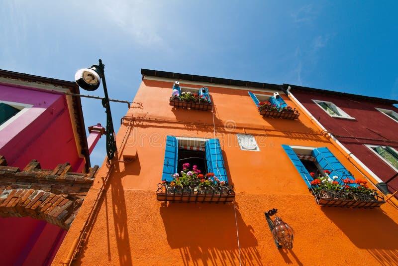 Italia, Venecia. isla del burano fotos de archivo libres de regalías
