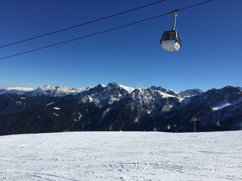 Italia vinter royaltyfria foton