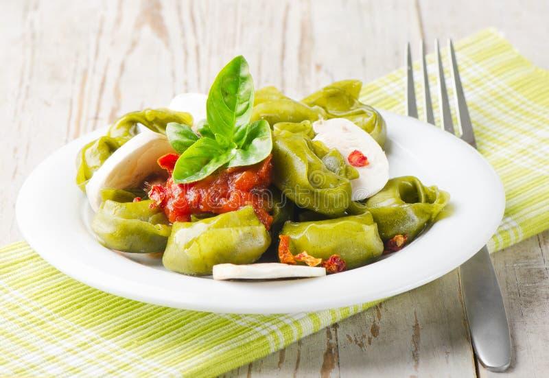 Italiaans gezond voedsel royalty-vrije stock afbeelding