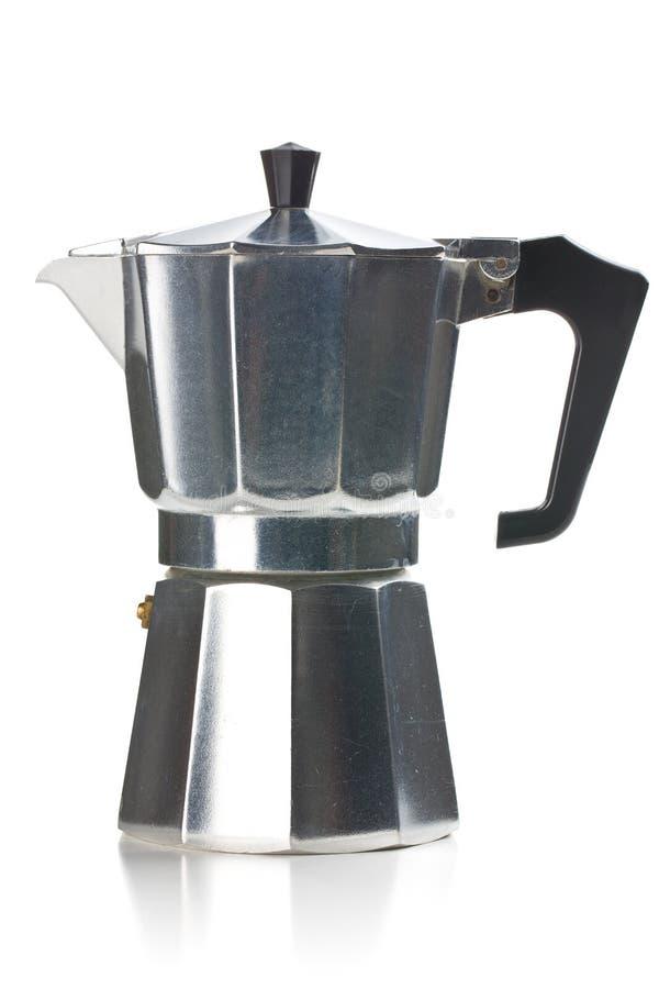 Italiaans koffiezetapparaat stock foto