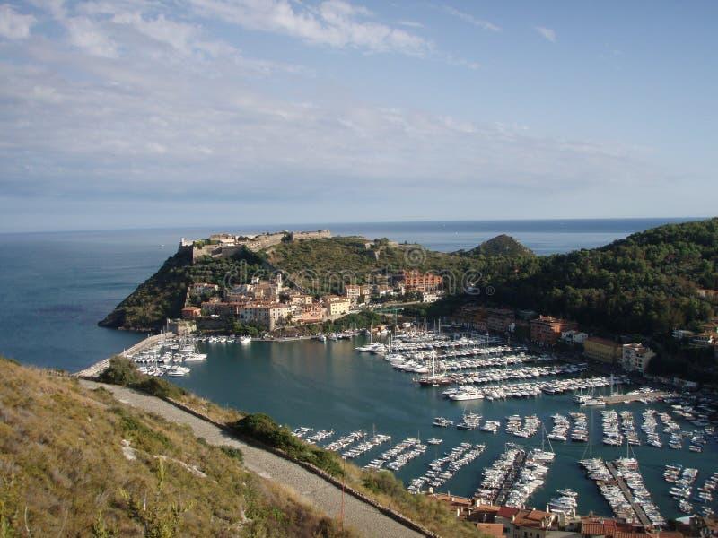 Italiaans landschap stock afbeelding