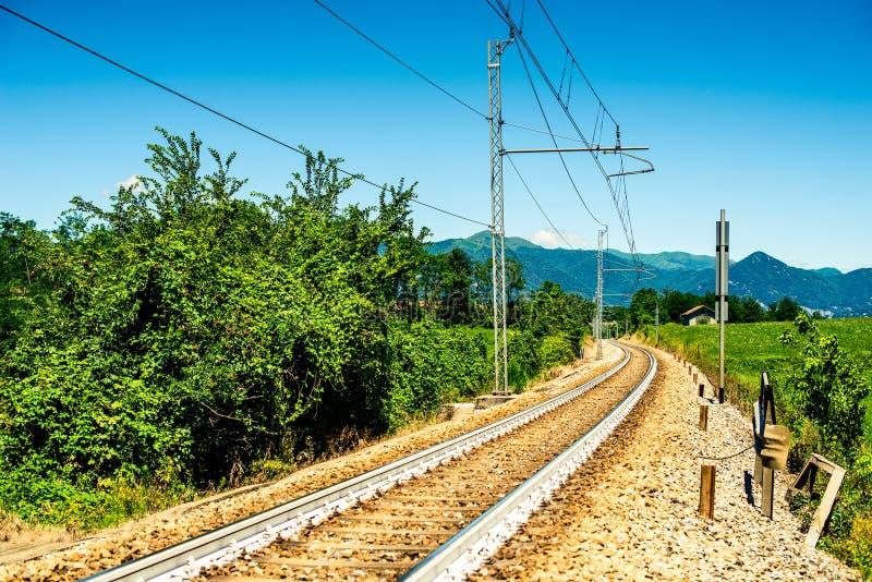 Italiaans landschap Brianza Lombardije royalty-vrije stock fotografie