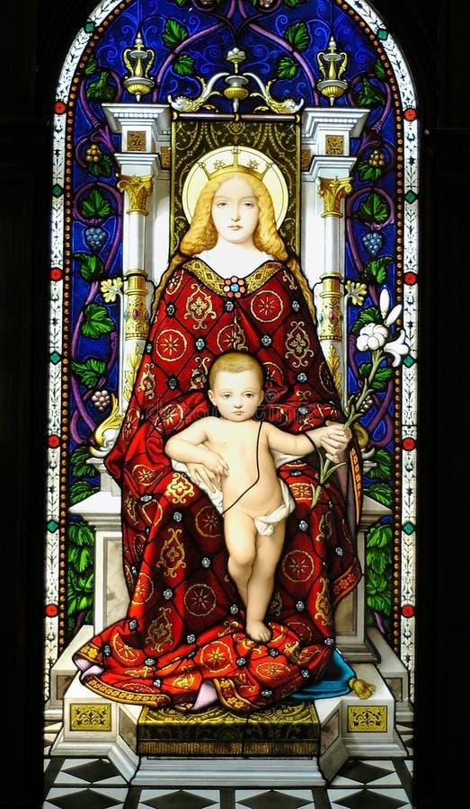 Italiaans mozaïek royalty-vrije stock afbeelding
