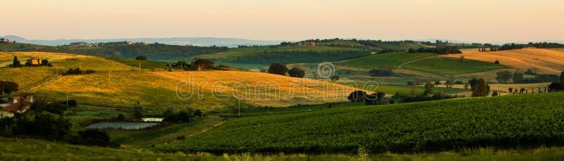 Italiaans Platteland IV stock afbeeldingen