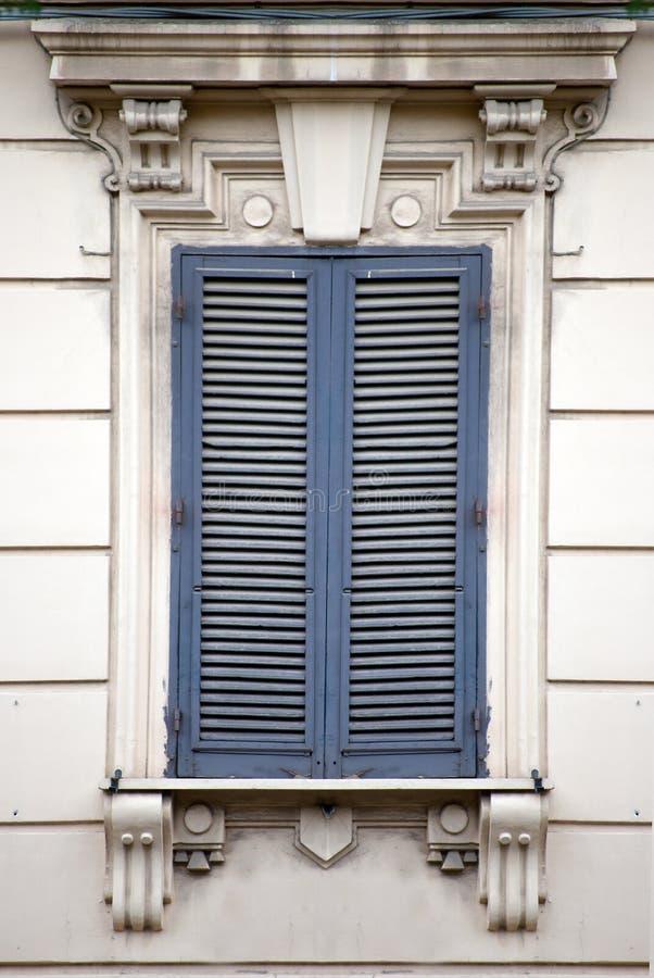 Italiaans venster royalty-vrije stock foto