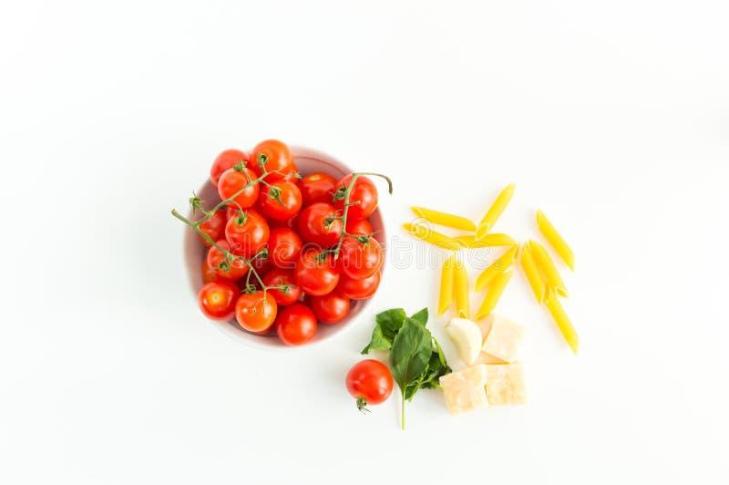 Italiaans voedselpatroon royalty-vrije stock foto's