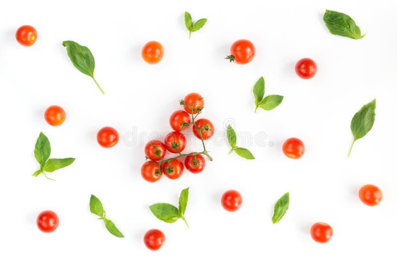 Italiaans voedselpatroon stock afbeelding