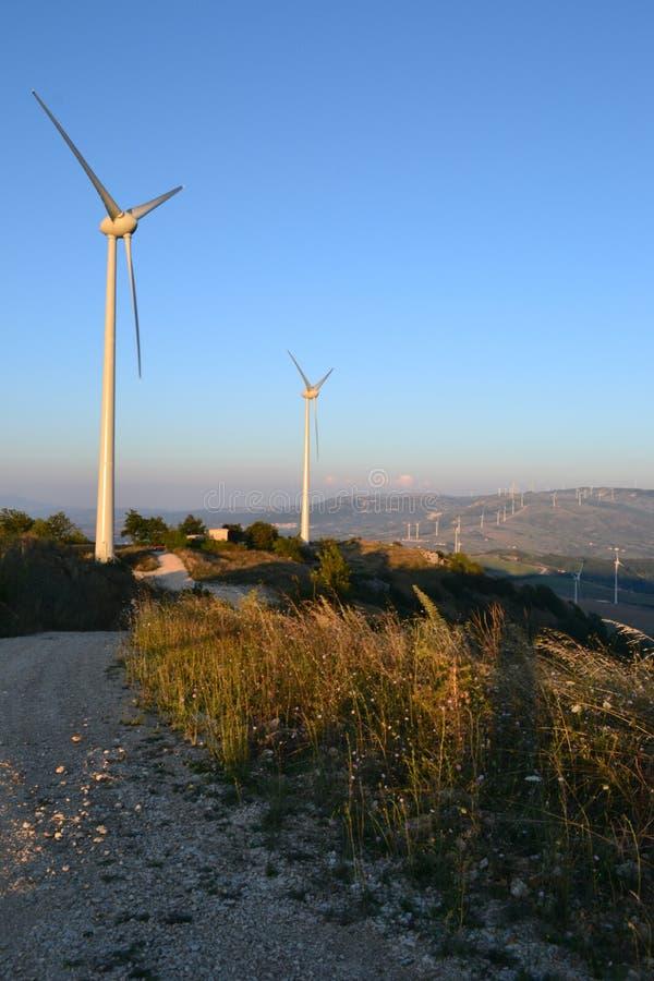 Italiaans Windlandbouwbedrijf stock foto