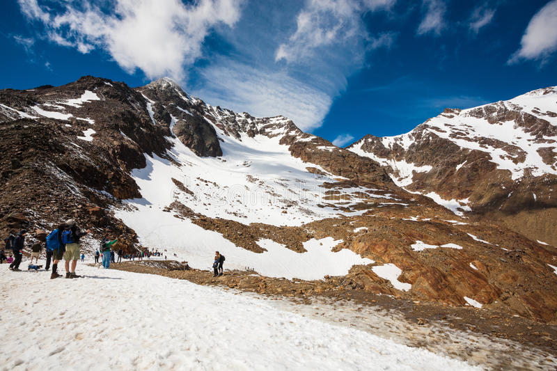 Italiaanse berg stock afbeelding
