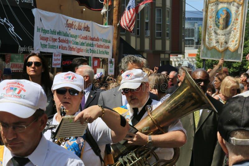 Italiaanse culturele parade royalty-vrije stock fotografie