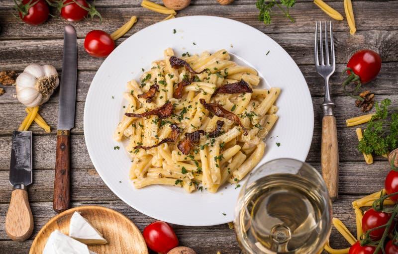 Italiaanse deegwaren stock foto's