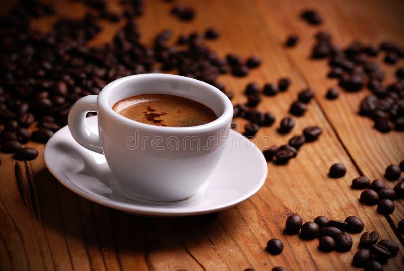 Italiaanse espresso stock foto's