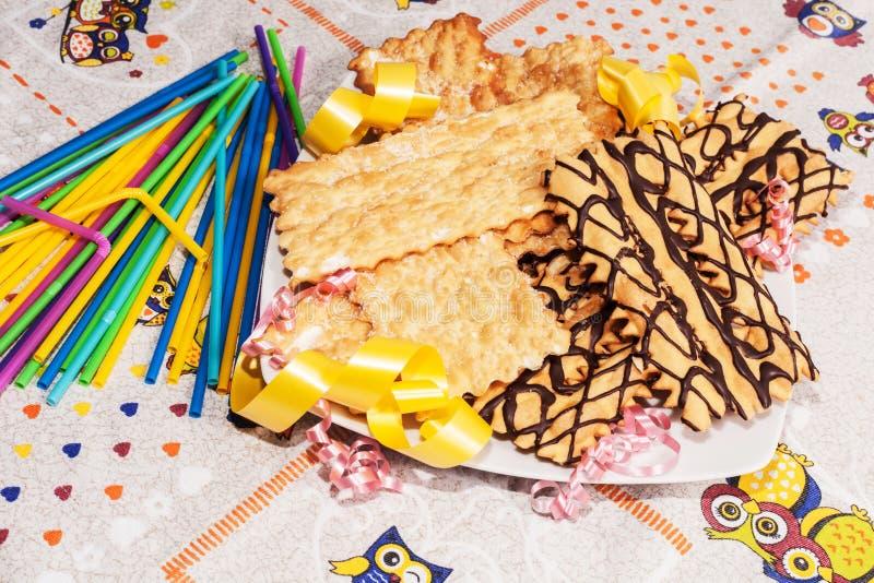 Italiaanse Gebakjes stock foto