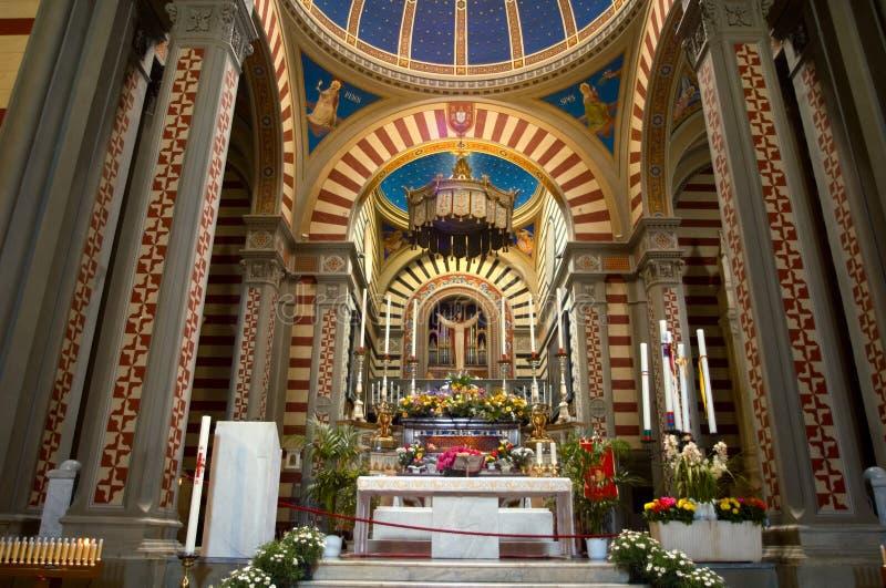 Italiaanse kathedraal royalty-vrije stock afbeeldingen