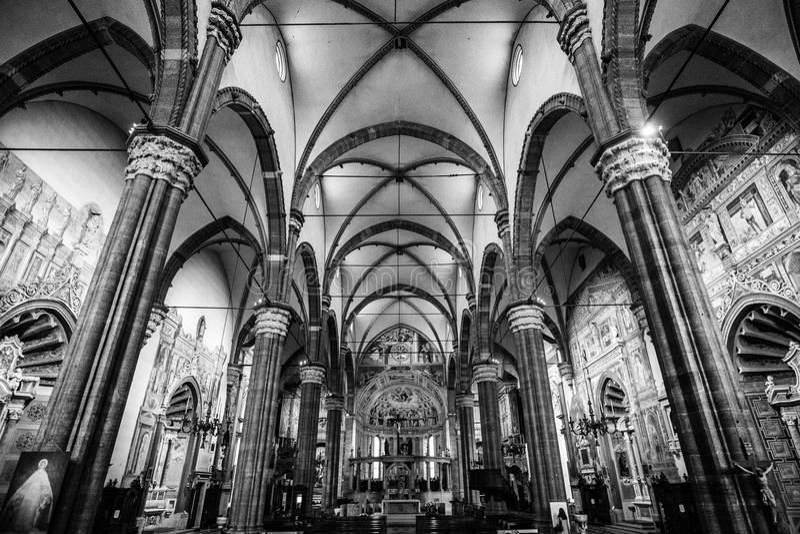 Italiaanse Kathedraal stock afbeelding