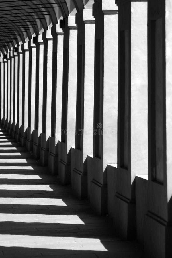 Italiaanse kolommen. stock fotografie