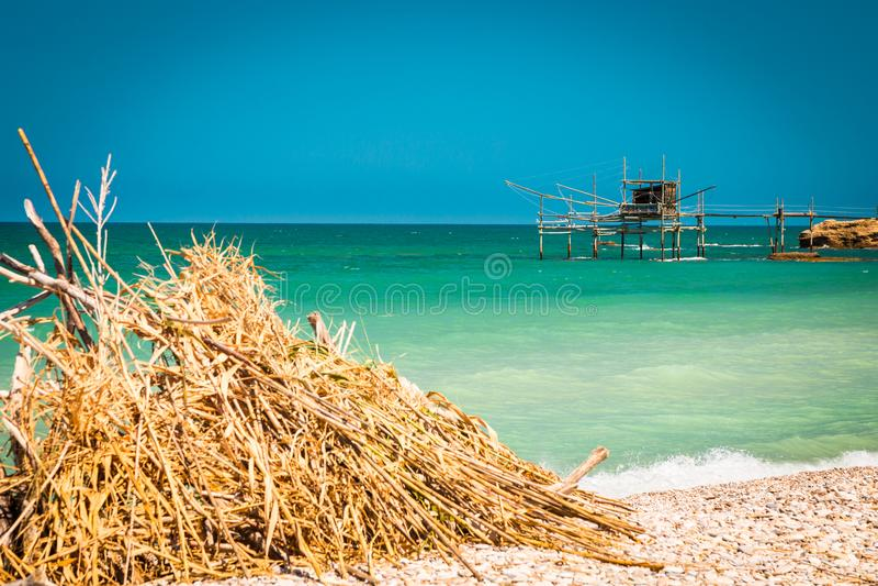 Italiaanse kust royalty-vrije stock foto's