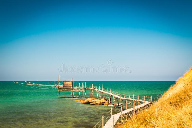 Italiaanse kust stock foto