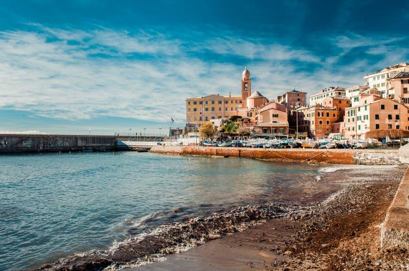 Italiaanse kust stock fotografie