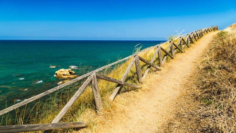 Italiaanse kust stock afbeelding