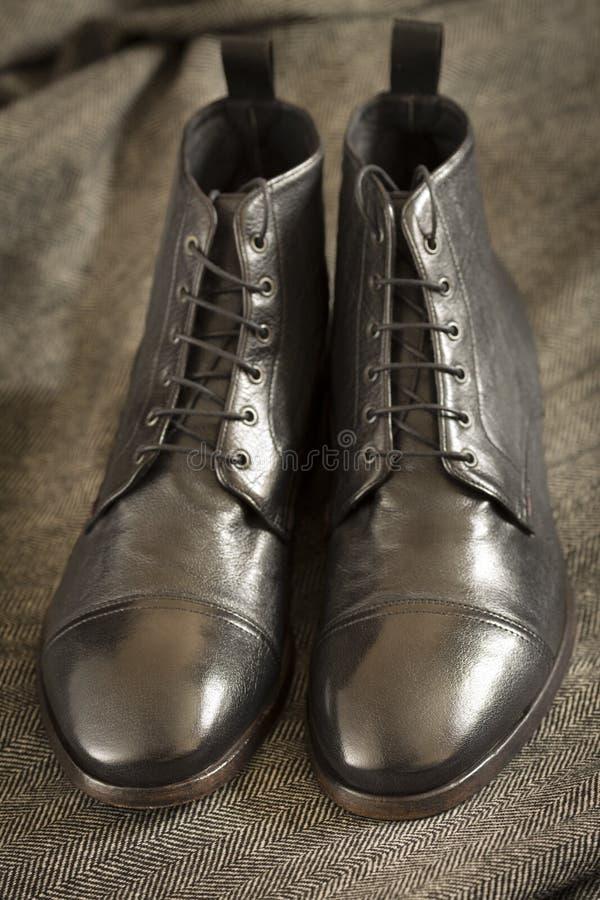 Italiaanse Leerlaarzen stock fotografie
